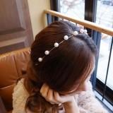 @@来自星星的你同款 韩国进口珍珠简约小清新必备发箍