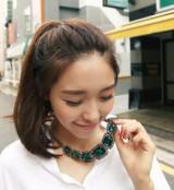 韩版 复古 多色 短款 毛衣链