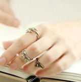 韩版饰品批发  戒指 复古戒指 十字架 戒指
