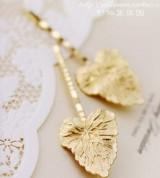 (单只价)韩版 时尚 波浪形状金色树叶 秋季枫叶象征 发夹边夹头饰(单只价)