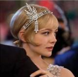 (需要可预定)了不起的盖茨比同款新娘皇冠欧美头饰女珍珠头箍发带批发淘宝热销
