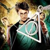 欧美影视 哈利波特项链 卢娜.哈利波特 死亡圣器三角形吊坠项链
