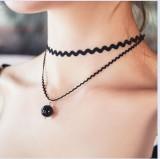 韩国代购正品 个性饰品 双层 甜美公主时尚珍珠项链