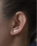 欧美外贸耳夹 金属树叶叶子耳钉耳夹 etsy爆款 全新设计
