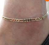 欧美外贸饰品 时尚简约百搭款 金属链条女士脚链叫裸链