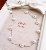 韩国首饰品配饰装饰 百搭淑女多颗珍珠项链 小清新长毛衣链