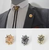 男士胸针 胸花 复古西服配饰 气质皇冠盾牌衬衣别针