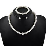 珍珠项链配套新款 高档珍珠项链套装 速卖通热销款 外贸原单