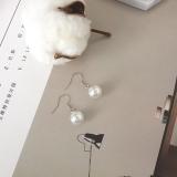 新款韩国珍珠耳环宝石吊坠气质女神搭配耳勾耳钉