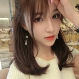 日韩国珍珠仙气耳坠超仙耳线长款花朵耳钉流苏吊坠气质简约耳环女