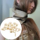 复古松树胸针 树枝珍珠胸花别针 欧美外贸饰品批发厂家直销