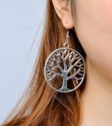 时尚潮范个性夸张耳饰 生命之树耳环