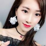 刺绣珍珠花朵耳环个性气质名媛流苏蕾丝花朵水钻珍珠长款耳环