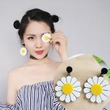 韩国气质个性简约百搭时尚可爱花朵耳环