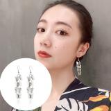 S925耳钩韩国铁片蝴蝶个性冷淡风超仙网红耳环
