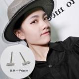 韩国简约小众个性T字小耳钉