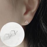 韩国极简个性三角小耳钉