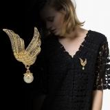 韩国天使之翼翅膀珍珠胸针