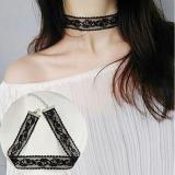 韩国原宿风蕾丝气质复古百搭颈链项链