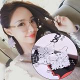 韩国气质流苏蕾丝珍珠长款耳环