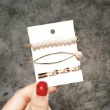 韩国网红气质抖音ins神器时尚饰品夹子可爱珍珠发夹