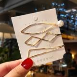 韩国超仙仙女时尚新款气质网红可爱百搭发夹一字夹